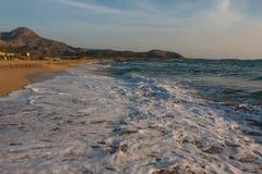 Phalassarna Beach Stock Photo