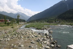 Phalgam Kashmir Royalty Free Stock Photos