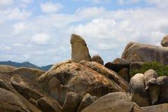 Phallic Grandpa Rock, Koh Samui, Thailand Royalty Free Stock Image