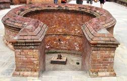 Phallus Altar. Public place  Kathmandu Nepal Stock Photo