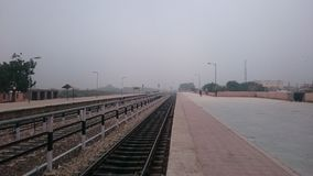 Phalodi stacja kolejowa Obraz Stock