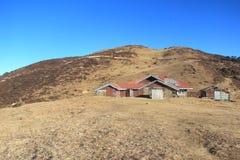 Phalut-Trekkers-Hütte Stockfotos
