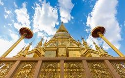 Phamahatrad在李,南奔省,泰国的玉sriviangchai 免版税库存图片