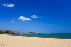Phan звенел пляж, Ninh Thuan, Вьетнам Стоковая Фотография