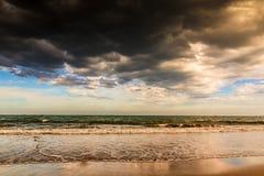 Phan belde het strand van Ninh Chu, Vietnam royalty-vrije stock afbeeldingen