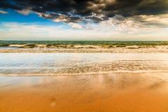 Phan belde het strand van Ninh Chu, Vietnam stock afbeeldingen