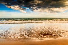 Phan belde het strand van Ninh Chu, Vietnam royalty-vrije stock afbeelding