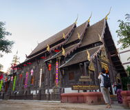 Phan Tao Temple. Chiang Mai, Thailand Royalty Free Stock Photo