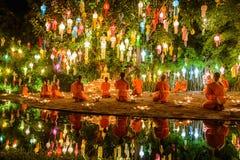Phan Tao temple Stock Photo