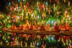 Phan Tao temple Royalty Free Stock Photography