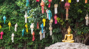 Phan Tao temple. Chiangmai, Thailand Stock Photography