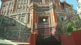 Phanar Greek Orthodox College in Istanbul stock video