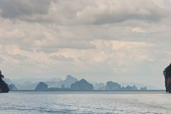 phang nga залива Стоковая Фотография