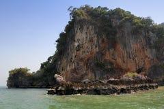 Phang Nga на море в Таиланде остров тропический Стоковое Изображение RF