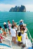Phang Nga archipelago near Phuket, Thailand Royalty Free Stock Image