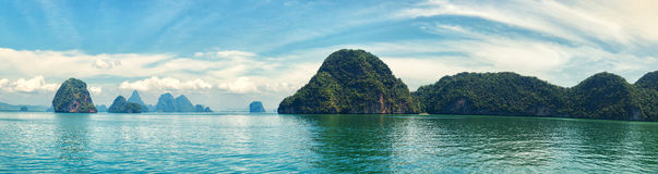 Phang Nga archipelago near Phuket, Thailand Stock Photos