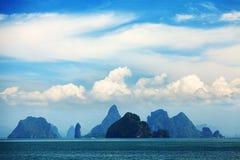 Phang Nga archipelago near Phuket, Thailand Stock Image