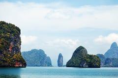 Phang Nga archipelago near Phuket, Thailand Stock Photos