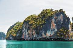 Phang Nga archipelago near Phuket, Thailand Royalty Free Stock Photo