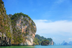 Phang Nga archipelago near Phuket, Thailand Stock Photography
