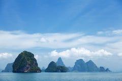 Phang Nga archipelago near Phuket, Thailand Stock Photography