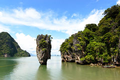 Phang Nga Bay, James Bond Island. Royalty Free Stock Images