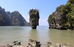 Phang Nga Bay, James Bond Island Royalty Free Stock Photography