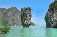 James Bond Island Thailand Stock Image