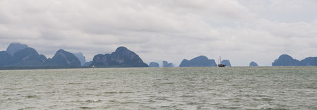 Phang Nga Bay Royalty Free Stock Photo