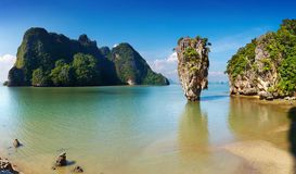 Phang Nga Bay, Thailand. Phang Nga Bay, James Bond Island, Thailand stock image