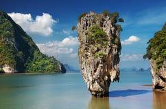 Phang Nga Bay, Thailand. Phang Nga Bay, James Bond Island, Thailand Stock Images