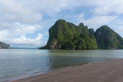 Phang Nga bay in Thailand. Phang Nga bay in southern Thailand Stock Image