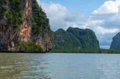 Phang Nga Bay in Thailand. Phang Nga Bay in southern Thailand Stock Photography