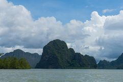 Phang Nga Bay in Thailand. Phang Nga Bay in southern Thailand Royalty Free Stock Photos