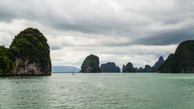 Phang nga bay, thailand Royalty Free Stock Photography