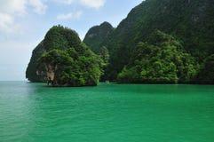 Phang Nga fjärd, Phuket, Thailand Royaltyfri Foto