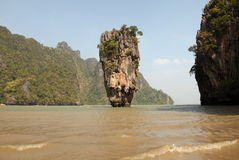 Phang Nga - James Bond Island (Koh Tapu) Stock Photo