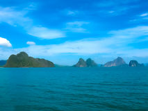 Phang Nga National Park in Thailand Royalty Free Stock Images