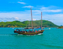 Phang Nga National Park in Thailand Royalty Free Stock Photos