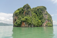Phang Nga National Park in Thailand Royalty Free Stock Photo