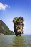Phang Nga Schacht, Thailand lizenzfreies stockfoto
