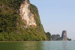 Phang Nga sur la mer en Thaïlande Île tropicale Photographie stock