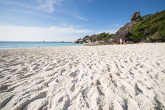 PHANG NGA, THAÏLANDE - 7 novembre 2015 ; belle île similan Photographie stock