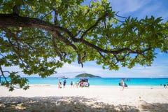 PHANG NGA, THAÏLANDE - 7 novembre 2015 ; belle île similan Photo stock