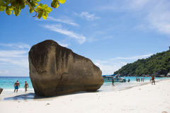 PHANG NGA, THAÏLANDE - 7 novembre 2015 ; belle île similan Image stock