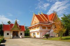 PHANG NGA, THAILAND - Januari 8, 2014: Wat Kaeo Manee Si Mahatha Royalty-vrije Stock Afbeelding