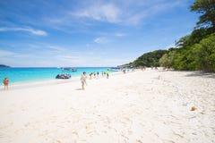 PHANG-NGA, THAILAND - November 7, 2015; beautiful similan island Stock Image