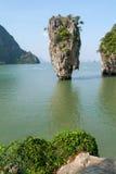 Phang Nga zatoka, James Bond wyspa Zdjęcia Royalty Free