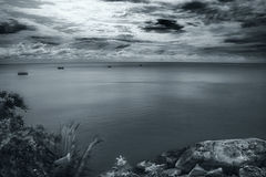 phangan海运视图 库存照片