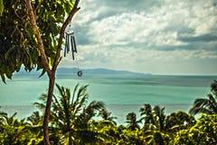 Phangan island. Thailand. Sea from view point. Royalty Free Stock Photos